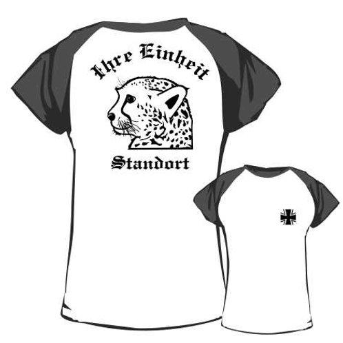 Baseball T Shirt beidseitig bedruckt, Motiv: BW_057