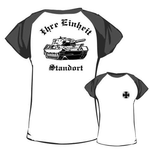 Baseball T Shirt beidseitig bedruckt, Motiv: BW_044