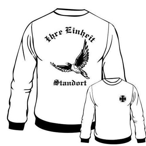 Sweatshirt beidseitig bedruckt, Motiv: BW_011