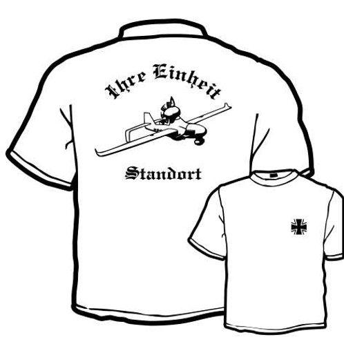 T Shirt Atmungsaktiv beidseitig bedruckt, Motiv: BW_006