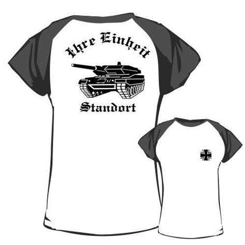 Baseball T Shirt beidseitig bedruckt, Motiv: BW_027