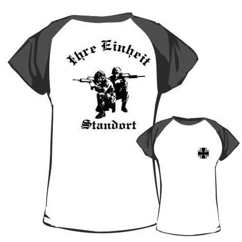Baseball T Shirt beidseitig bedruckt, Motiv: BW_019