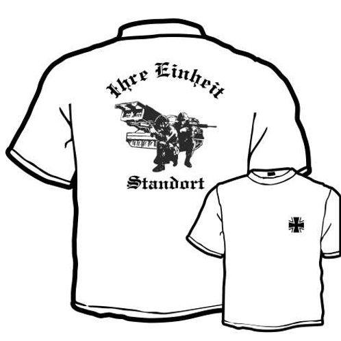 T Shirt beidseitig bedruckt, Motiv: BW_038