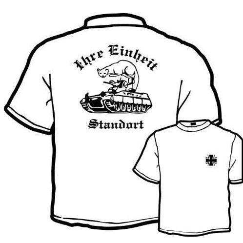 T Shirt Atmungsaktiv beidseitig bedruckt, Motiv: BW_036