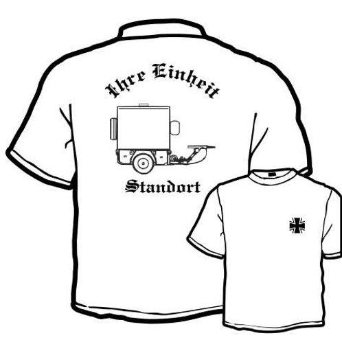 T Shirt beidseitig bedruckt, Motiv: BW_003