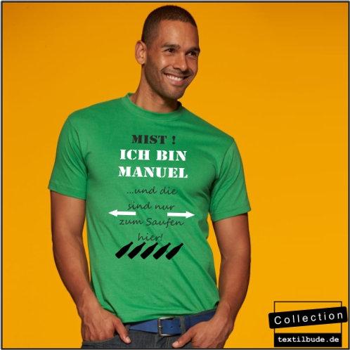 "Ich bin ""Manuel"", Motiv JGA 014"
