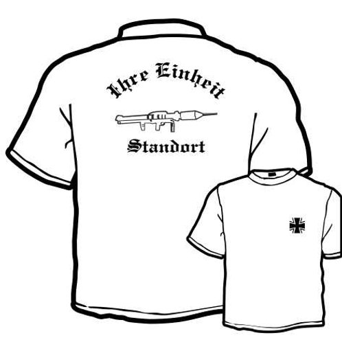 T Shirt beidseitig bedruckt, Motiv: BW_060