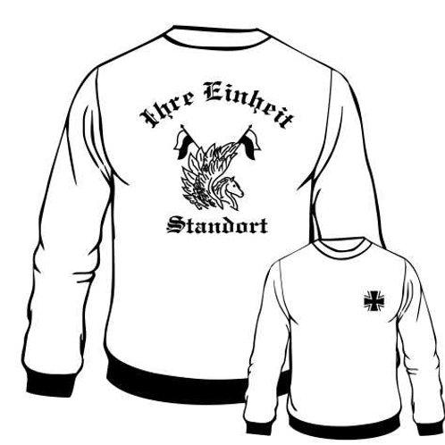 Sweatshirt beidseitig bedruckt, Motiv: BW_042
