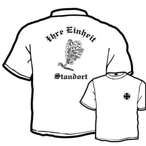 T Shirt beidseitig bedruckt, Motiv: BW_065