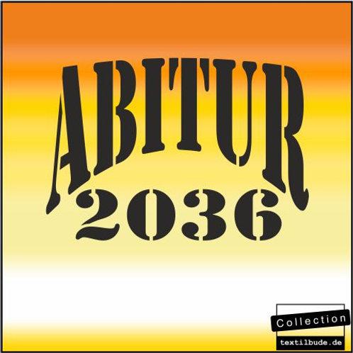 "Schulanfänger - Motiv ""ABI 2036"""