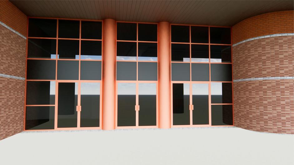 Rendering - Front Doors