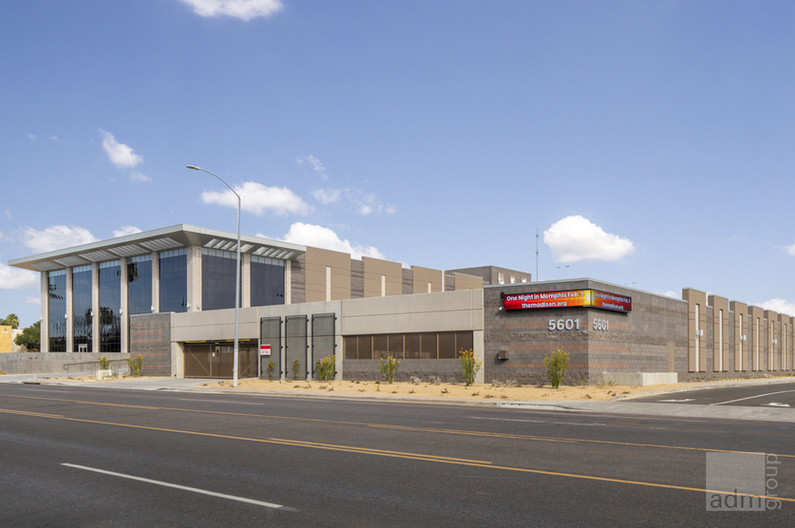Performing Arts Center and Parking Garage