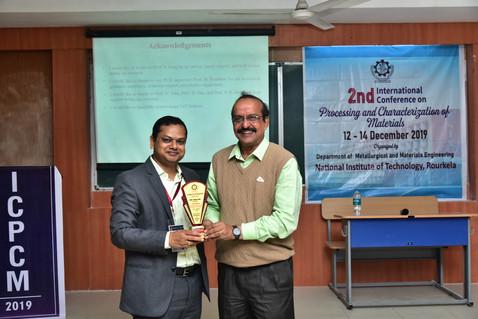 Prof. Bankim Chandra Ray at ICPCM 2019
