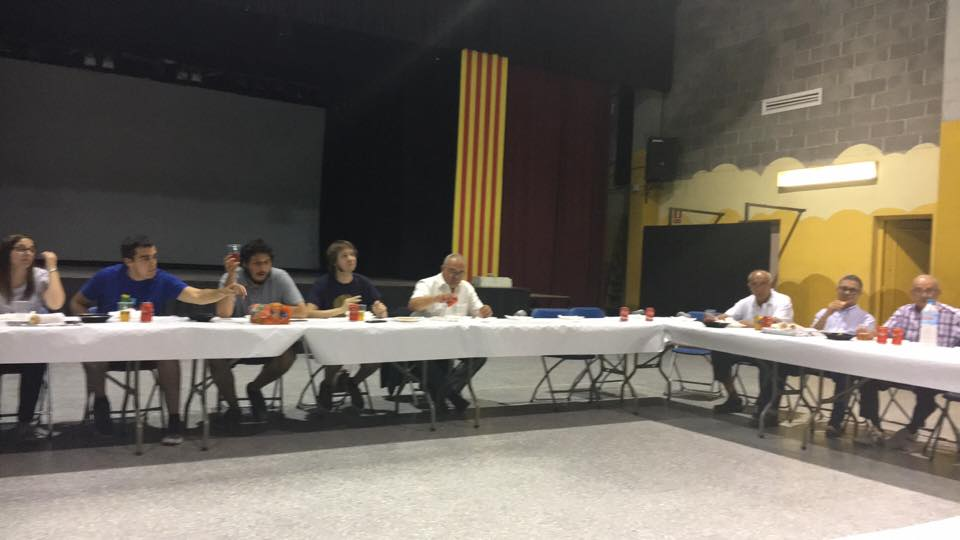 Sopar a la UEC 14/7/2016