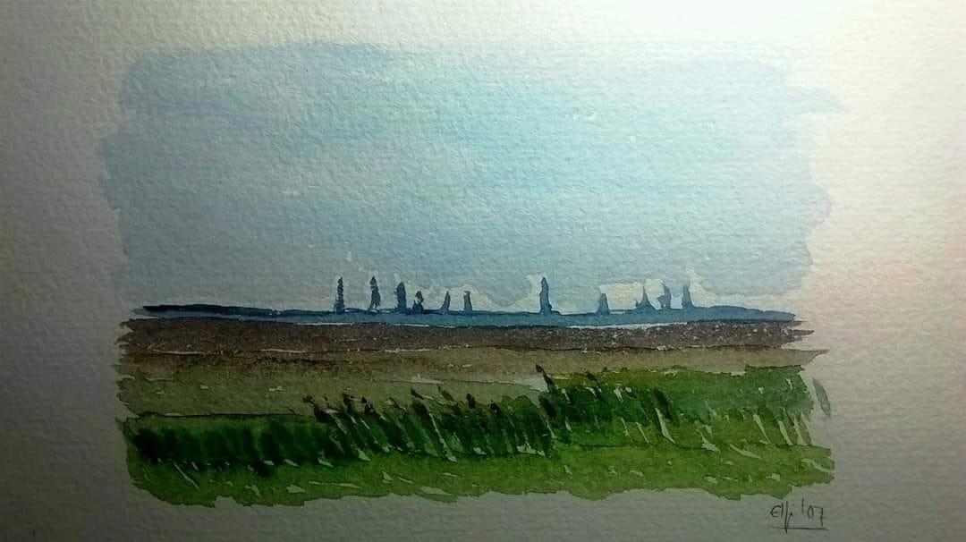El Wattenmeer -mar de marismes- al mar del Nord amb Bremerhaven al fons (Baixa Saxònia)
