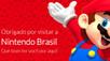 Testando a Nintendo no Braisl da Nintendo