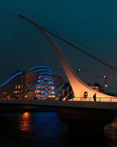 Samuel Beckett Bridge - Dublin (Ireland)