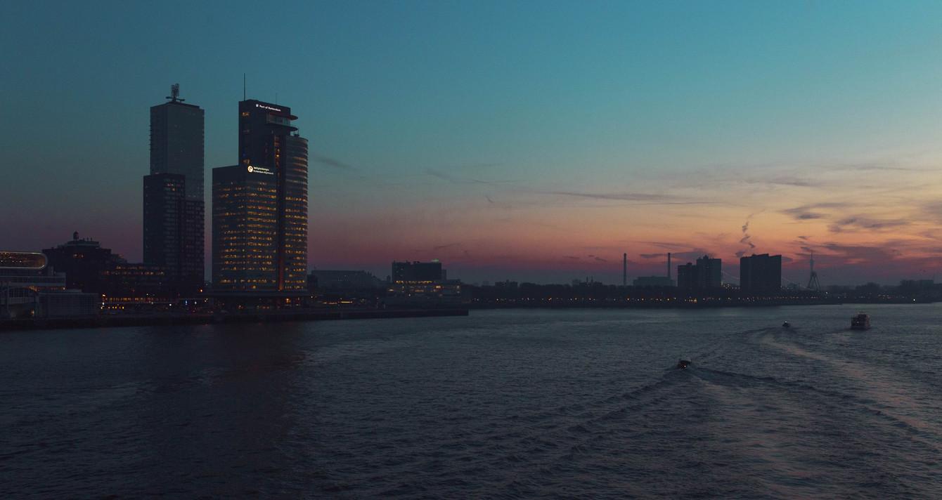 Sunset - Rotterdam
