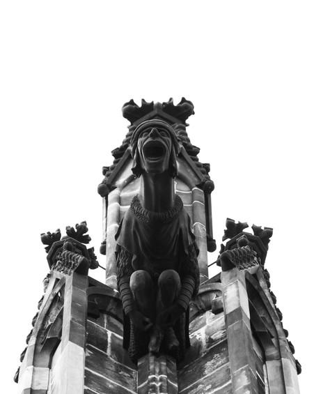 Gargula - St Vitus Cathedral  (Prague)