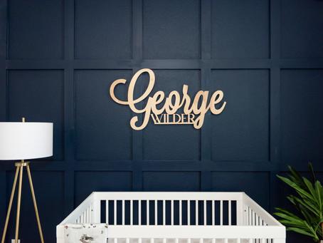 Baby George Newborn Lifestyle Session, Burleson, TX