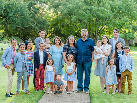Extended Family Session, Irving, Texas