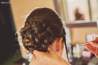 BRIDAL BRAIDED HAIR