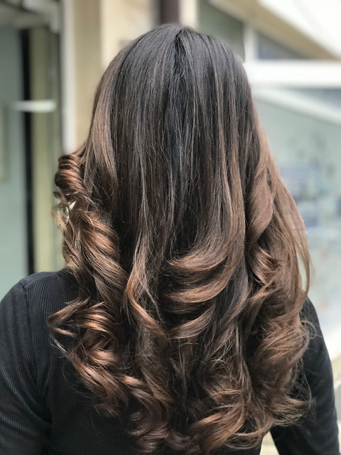 MELTING CHOCOLATE BALAYAGE