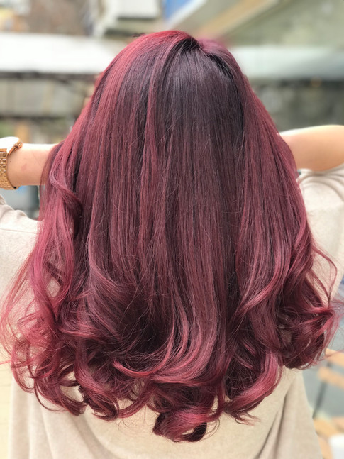 DARK PURPLE TO PINK MADNESS