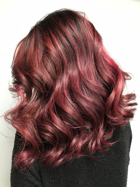 COOL RED HIGHLIGHTS
