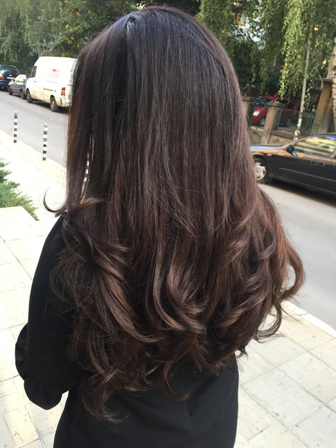 DARK CHOCOLATE BALAYAGE