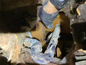 Inspection reveals hidden damage