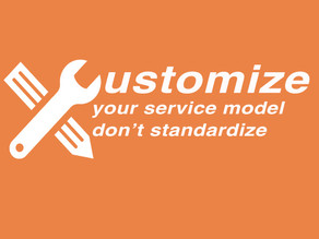 """ """"FLEXIBILITY BEING KEY TO A POSITIVE CUSTOMER SERVICE EXPERIENCE"""""""