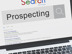 The #1 step in prospecting