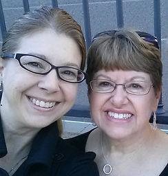 Angie & Mom Sherry