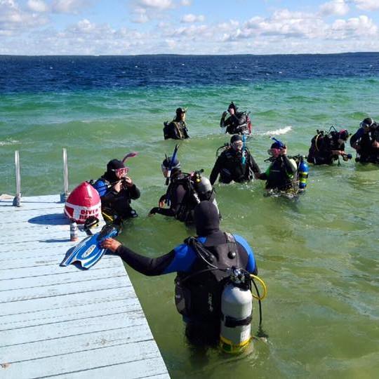 Open Water Checkout Dives (May 2/3) NAUI