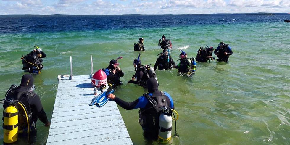 SCUBA Open Water Checkout Dives, June 1 & 2, 2019