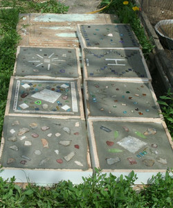 Making stepping stones - 3