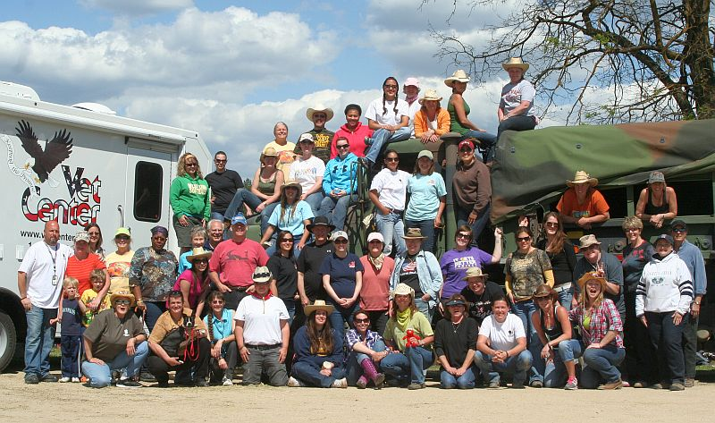 2012- Women Warriors and The Cowgirls Retreat