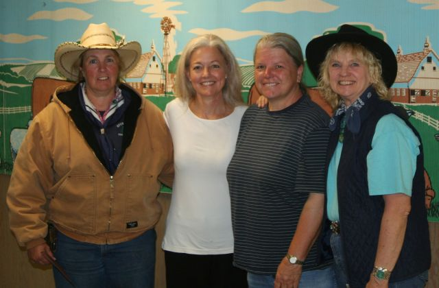 Mayor Verner and the Cowgirls