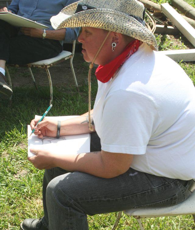 Drawing horses class - 1