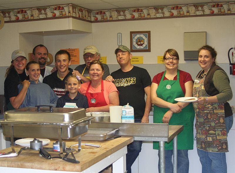 The Green Bluff Grange Cooking Crew