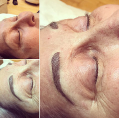 3D Natural Stroked Eyebrows