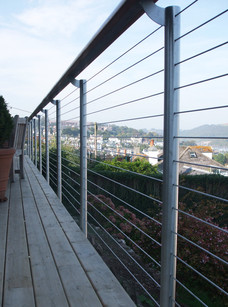 Wire balustrading with Riverside Enginee
