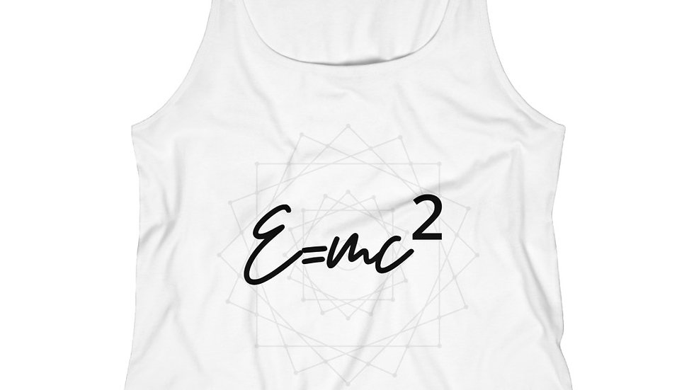 Mass-Energy Equivalence - Women's Relaxed Jersey Tank Top