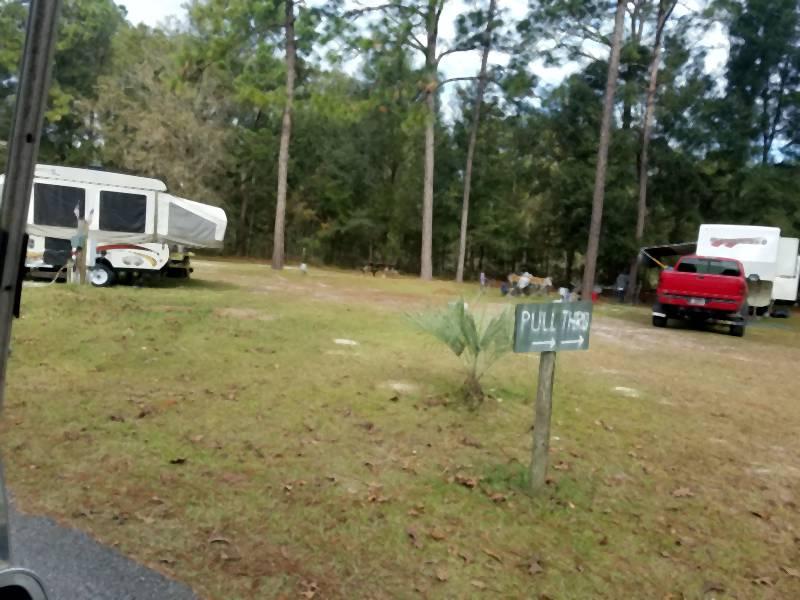 Lot 38 for popup camper, truck camper or