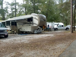 Campers are allowed to clean their RVs,