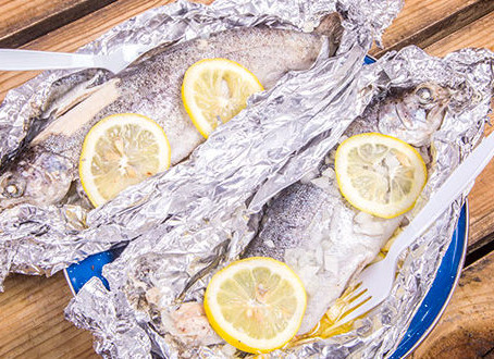 Campfire Fish on a Cedar Plank or in Foil Recipe