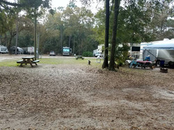 30 & 50 AMP sites for RVs, FHU