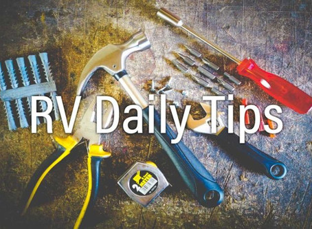 RV Daily Tips Newsletter 1025