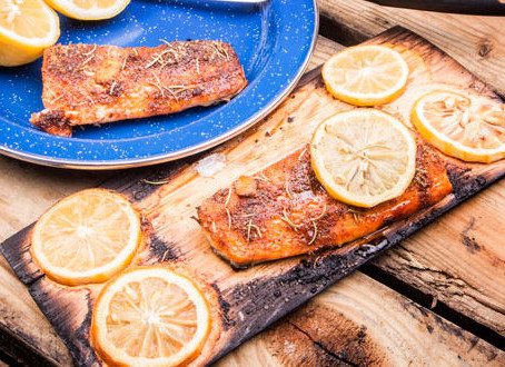 Salmon on a Wood Plank Recipe